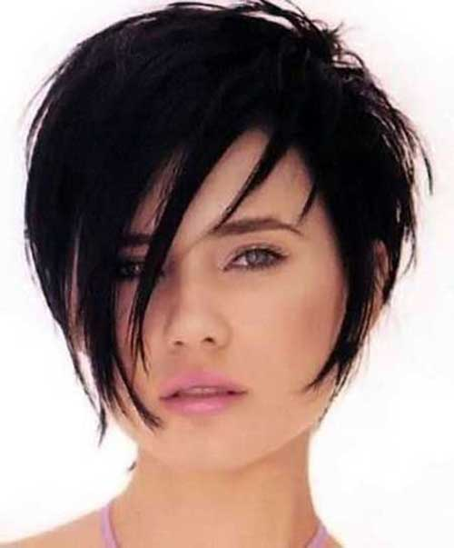 Cool Short Dark Sassy Hair 2015