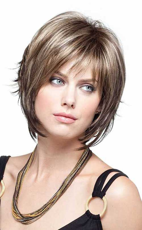 Short Fine Bob Hair Cut