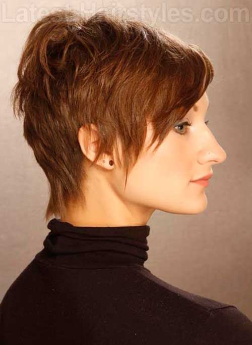 Short Layered Pixie Haircut Ideas 2015