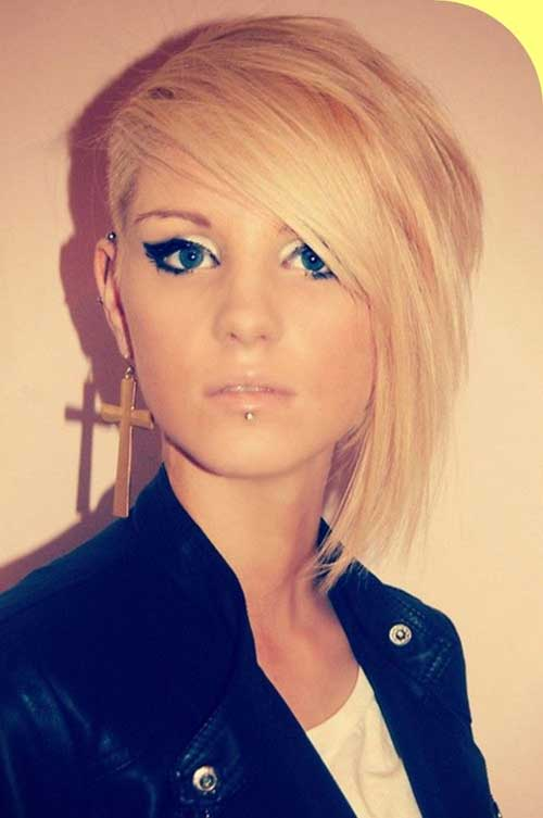 Short Fine Inverted Haircuts Ideas