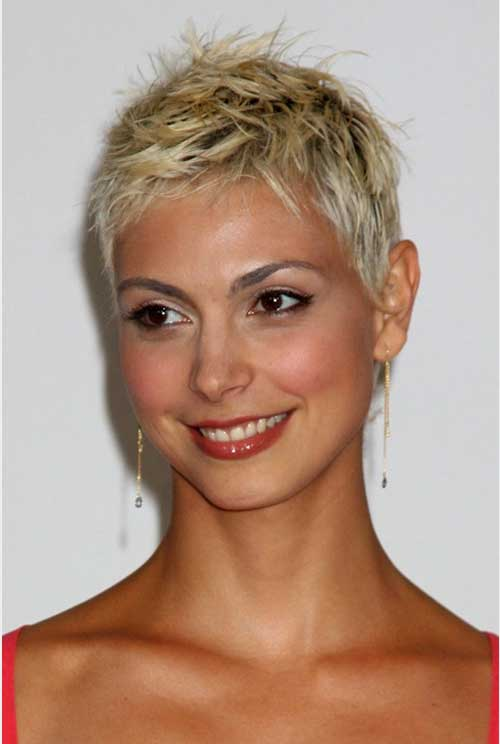 Short Fine Pixie Hair Cuts