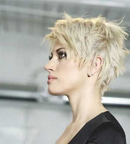 Short Funky Pixie Haircuts Ideas