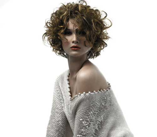 Short Hair Cuts Curly Hairstyles