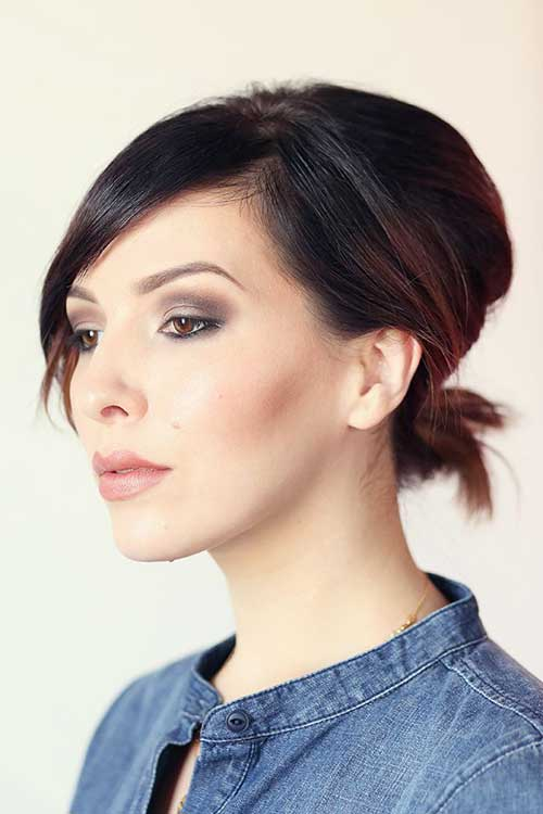 Best Short Hair Ponytail Ideas
