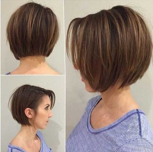 Short Hairstyles For Straight Fine Hair Short Hairstyles - Short hairstyle bob cut