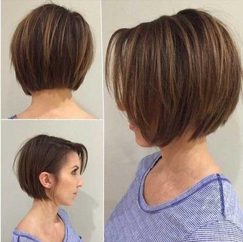 Marvelous Graduated Bob Haircut For Thin Hair Best Hairstyles 2017 Short Hairstyles Gunalazisus