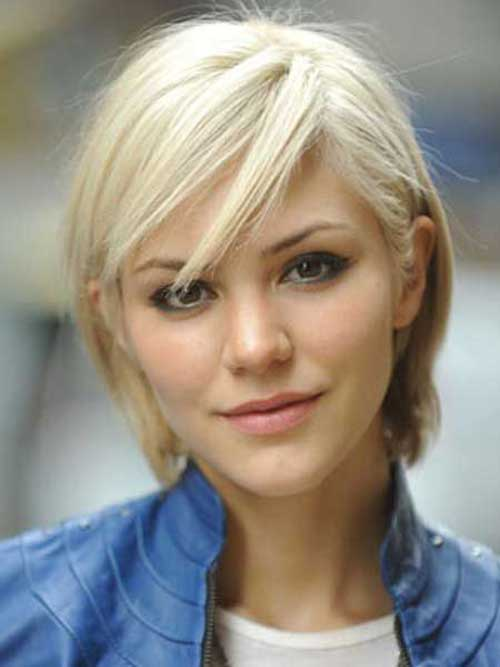 Short Hair Straight Fine Pixie Cuts for Women