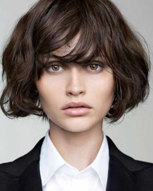 Short Hair Styles for Thick Bob Hair