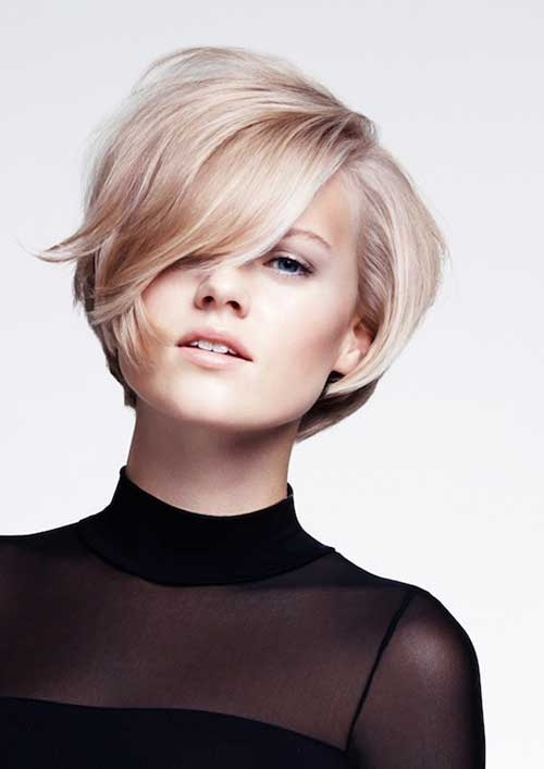 Cute haircuts for round faces women