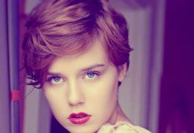 Nice Short Haircuts for Round Face