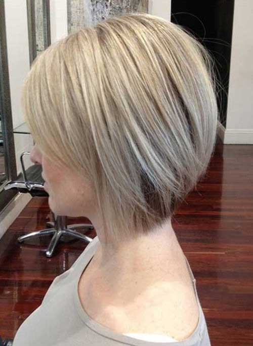 Short Haircuts for Straight Fine Hair Side View