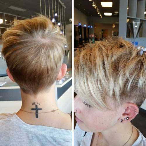 Short Haircuts for Women with Fine Pixie Hair