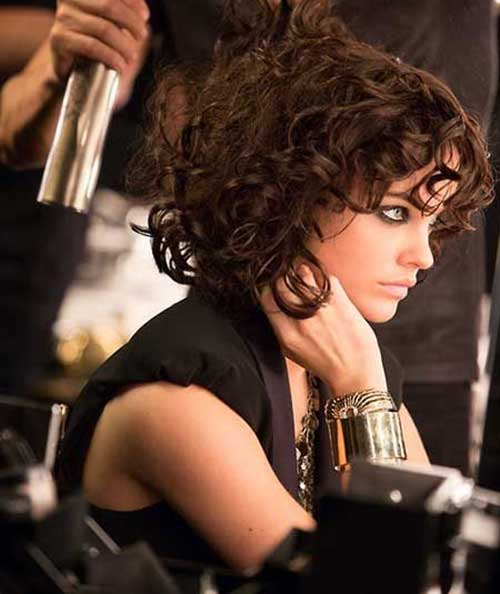 Best Short Hairstyles for Curly Hair 2014