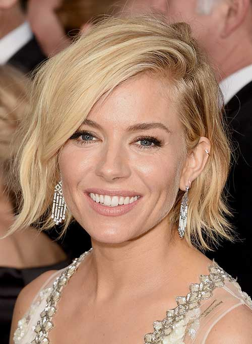 Short Layered Hairstyles for Wavy Blonde Hair
