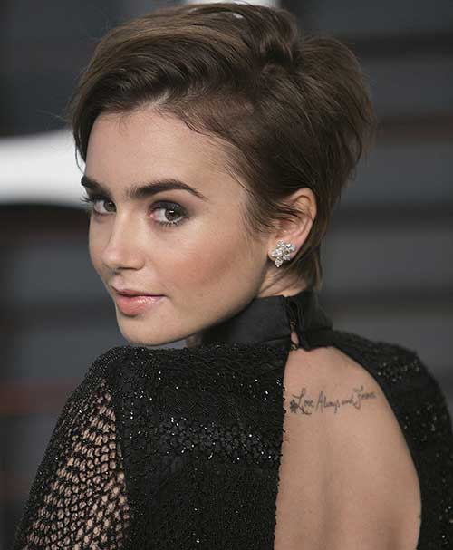 Short Layered Pixie Cut Image