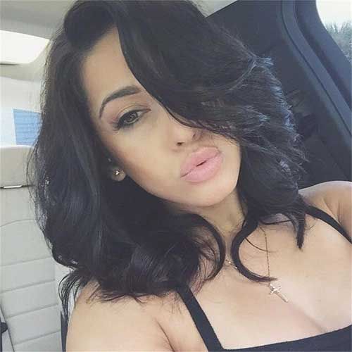 Short Layered Wavy Curly Hairstyles