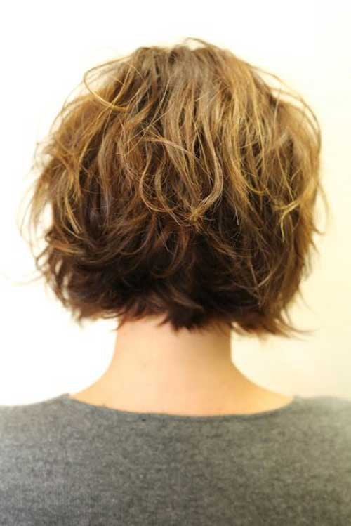 layered curly bob hairstyle hairstyles weekly the gallery for gt layered haircuts front view 588