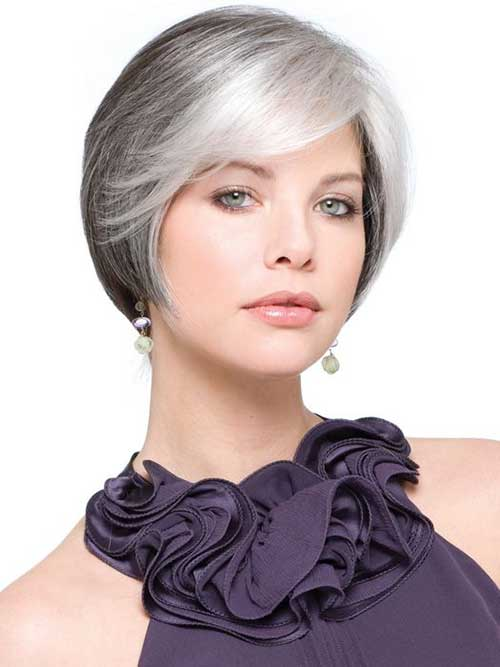 Short Older Women Cuts for Fine Hairstyles