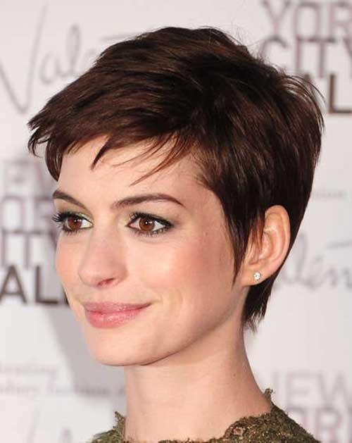 Short Fine Pixie Cuts 2014