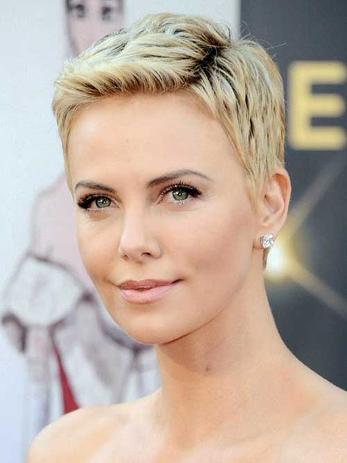 Short Blonde Pixie Cuts 2015