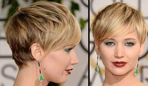Short Pixie Straight Haircuts Ideas 2015