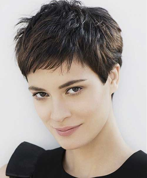 Short Pixie for Thick Hairstyles