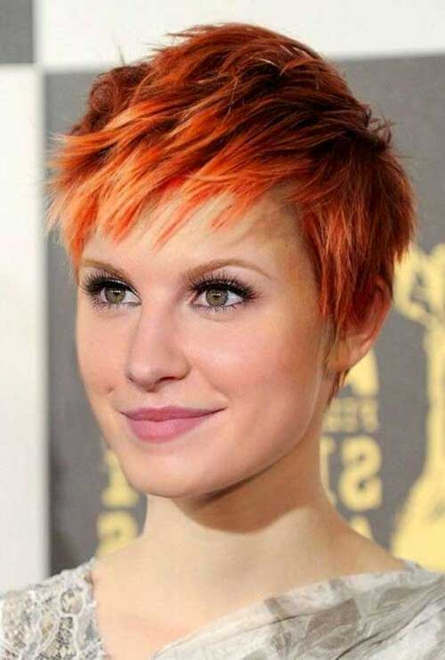 Short Red Pixie Haircuts Ideas
