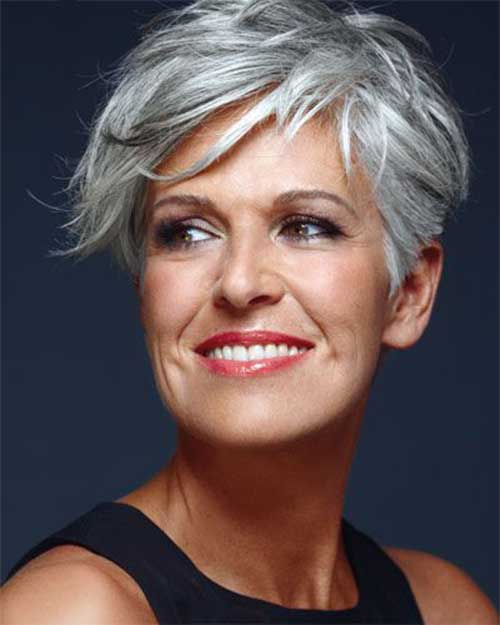 Short Sassy Hair Cuts for Older Women 2015