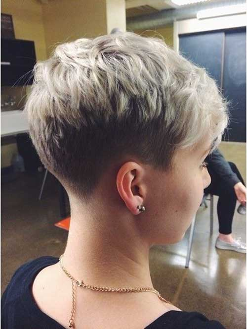 Short Shaved Pixie Haircuts 2015