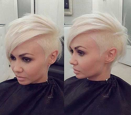 Short Side Trendy Hair Cut