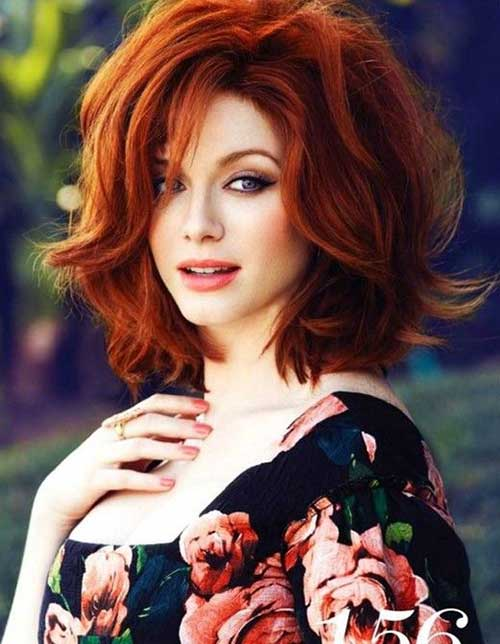 Short Styles for Thick Red Hair