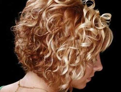 Best Short To Medium Curly Hairstyles 2014