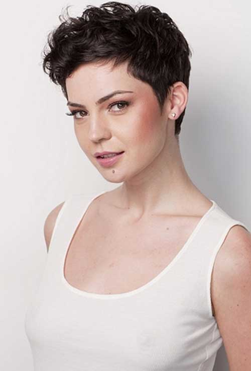 Short Wavy Curly Pixie Hairstyles