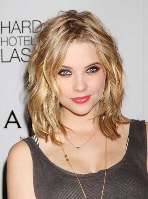 Short Wavy Curly Long Bob Styles