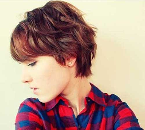 Short Wavy Hair Bob Cuts