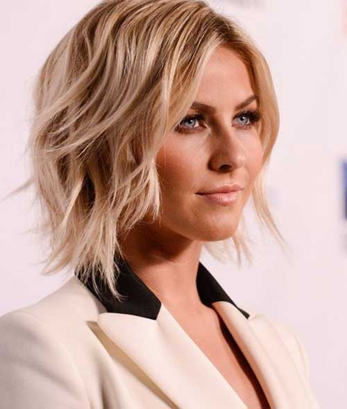 Best Short Wavy Layered Hairstyles