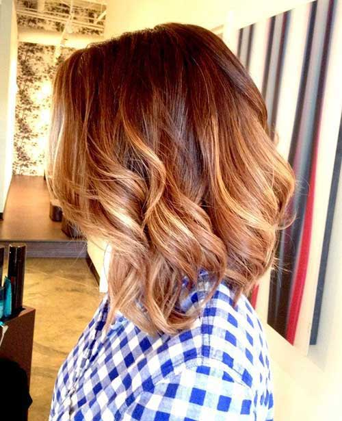 Short Wavy Long Bob Haircuts