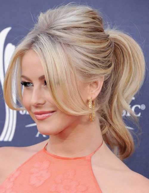 Short to Medium Hairstyles Ponytail