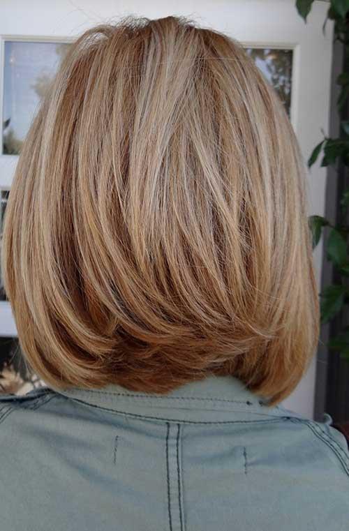 Awesome Medium Hair Shorter In Back Short Hair Fashions Short Hairstyles For Black Women Fulllsitofus