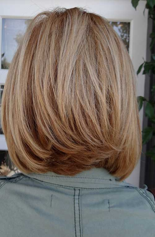 Incredible Medium Hair Shorter In Back Short Hair Fashions Short Hairstyles Gunalazisus