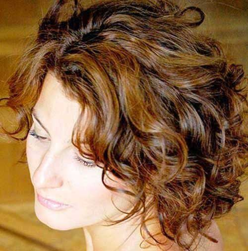 Soft Curly Short Hairstyles