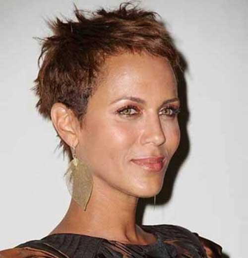 Spiky Short Pixie Haircuts 2015