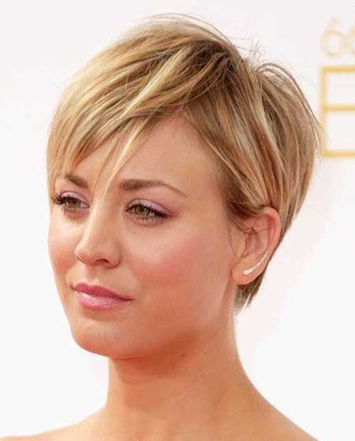 Straight Fine Pixie Hairstyles for Women