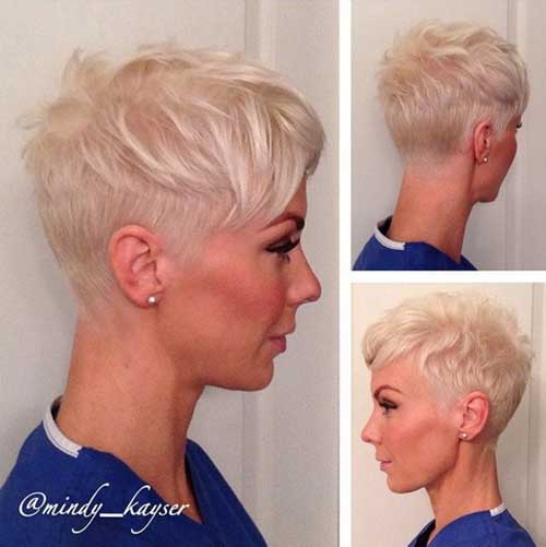 Stylish Pixie Cut Fİne Hair 2015