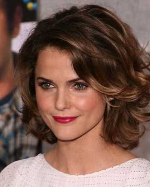 Stylish Thick Wavy Bob Haircuts
