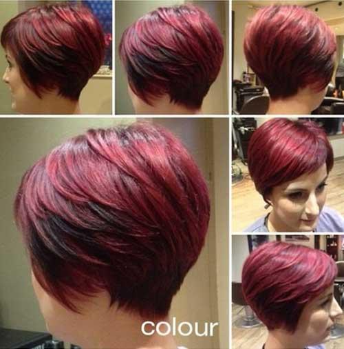 Stylish Women Hair Short Cut Style