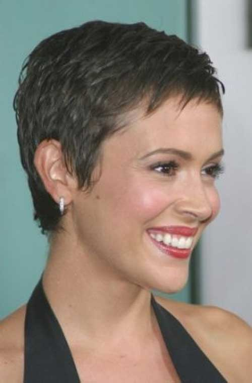 Super Short Cropped Pixie Hairstyles
