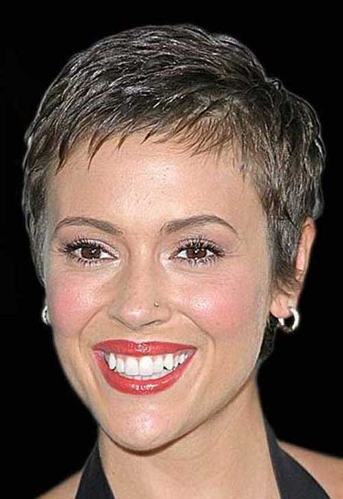 Super Short Cut Pixie Hair