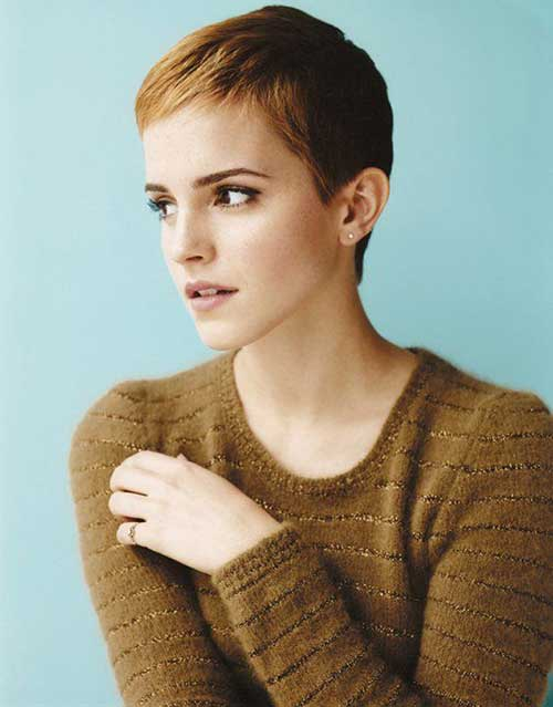 Super Short Cute Pixie Hairstyles