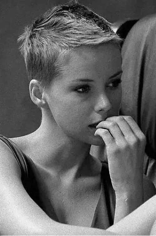 Super Short Pixie Cut Idea